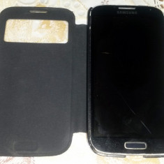 Samsung Galaxy S4 (GT-i9505) functional, cu DISPLAY SPART - Telefon mobil Samsung Galaxy S4, Negru, 16GB, Neblocat, Single SIM