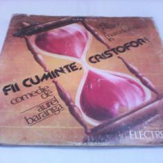 DISC VIVIL 2 X LP FII CUMINTE, CRISTOFOR DE AUREL BARANGA CU RADU BELIGAN RAR!!!! - Muzica soundtrack, VINIL