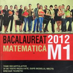 BACALAUREAT MATEMATICA M1 2012 - Zanoschi - Teste Bacalaureat