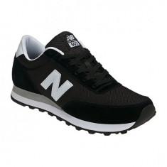 Pantofi New Balance 501 Negru pentru barbati din piele (NBAML501KW) - Adidasi barbati New Balance, Marime: 41, 42, 43, 44, 45