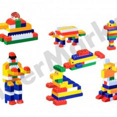 Set cuburi de constructie cu 68 piese, 2-4 ani, Unisex