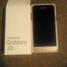 SAMSUNG galaxy j3 2016 - Telefon Samsung, Auriu, 8GB, Neblocat, Dual SIM, Quad core