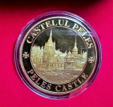 Medalie Comemorativa Medalie Castelul Peles Medalie Castelul Pelisor