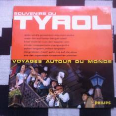 Souvenirs Du Tyrol Various disc vinyl lp Muzica Populara Altele austria editie vest, VINIL