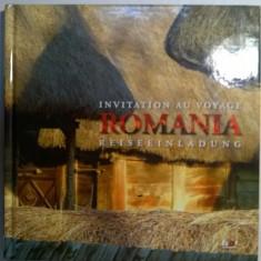 Romania Invitation au voyage/Reiseeinladung {bilingva} - Album Arta