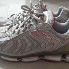 Adidas Geox - Adidasi barbati Geox, Marime: 41.5, Culoare: Gri