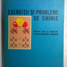 Aurica Sova - Exercitii si probleme de chimie - Carte Chimie