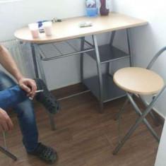 Set Masa de Bucatarie cu 2 scaune - Masa bucatarie