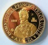 Medalie Comemorativa Medalie Alexandru Ioan Cuza Medalie Unirea Principatelor