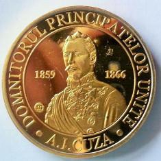 Medalie Comemorativa Medalie Alexandru Ioan Cuza Medalie Unirea Principatelor - Medalii Romania