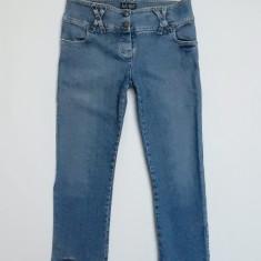 Blugi Giorgio Armani Jeans P03 Comfort Fit Indigo 003 Series Eco-Wash; marime 34 - Blugi dama Armani Jeans, Culoare: Din imagine