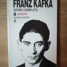 OPERE COMPLETE VOL. IV de FRANZ KAFKA, Bucuresti 1996 - Carte in germana
