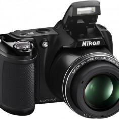 Aparat foto digital Nikon COOLPIX L330, 20.2MP, Black, cu geanta foto Nikon - Aparat Foto cu Film Nikon