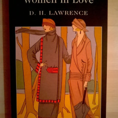 D. H. Lawrence - Women in Love - Carte in engleza