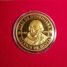 Medalie Comemorativa Medalie Iancu de Hunedoara Medalie Ioan Corvin - Medalii Romania