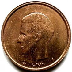 Belgia Baudouin I (1981-1993) 20 Francs 1981 (Belgique), Europa, Cupru (arama)