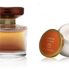Set Amber Elixir - Parfum 50 ml si Crema corp 250 ml - Oriflame - NOU - Set parfum