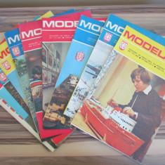 LOT 12 POLAND ORIGINAL PAPER MODELS & KITS MODELARZ 1979 AN COMPLET RARE !! - Macheta Navala Matchbox, 1:72