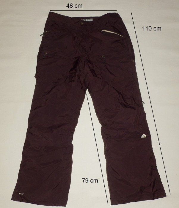 Pantaloni ski schi NIKE 3 straturi ventilatii deosebiti (XL spre 2XL) cod-174410 foto mare