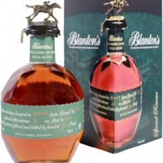 BLANTON WHISKEY GREEN LABEL 70CL(HI) SPECIAL RESERVE - Whisky