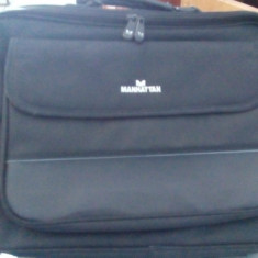 Geanta Laptop Manhattan Empire 17inch Negru
