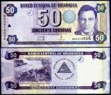 !!!  NICARAGUA  -  50  CORDOBAS  2006  -  P 198  - UNC