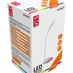 Veioza Lampa AVIDE de masa/birou LED 4W 4000K cu baterie 1800mAh, Veioze