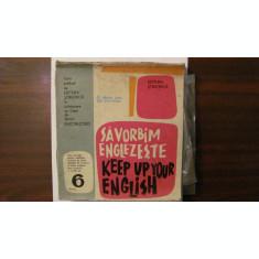 "PVM - Set  ELECTRECORD ""Sa Vorbim Englezeste"" numerele 1, 2 si 4 (lipsa 3, 5, 6)"