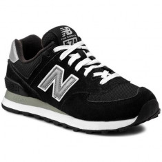 Pantofi New Balance 574 Negru pentru barbati din piele (NBAM574NK) - Pantofi barbat New Balance, Marime: 40