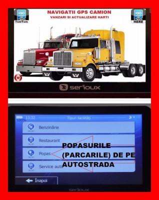 "GPS Navigatii  ecran 5"",Igo Primo Truck,harti GPS AUTO CAMION Full Europa 2017 foto"