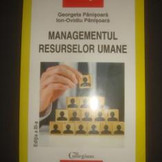 GEORGETA PANISOARA * ION-OVIDIU PANISOARA - MANAGEMENTUL RESURSELOR UMANE - Carte Management, Polirom