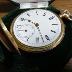 IWC Schaffhausen 585 14kt aur 1898 calibrul 52 - Ceas barbatesc Iwc, Mecanic-Manual, Metal necunoscut, Inainte de 1940