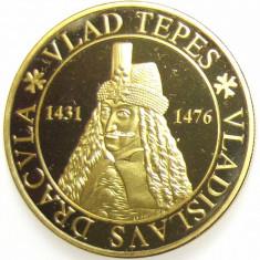 Medalie Comemorativa Medalie Vlad Tepes Medalie Dracula - Medalii Romania