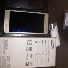 Samsung Galaxy Alpha 32 GB - Telefon mobil Samsung Galaxy Alpha, Argintiu, Neblocat, Octa core