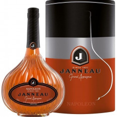 Janneau Grand Armagnac Napoleon 0.7l 40% Cutie Metal - Cognac