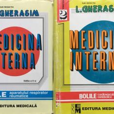 MEDICINA INTERNA - L. Gherasim (Vol. I + Vol. II) Editia a doua