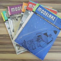 LOT 12 POLAND ORIGINAL PAPER MODELS & KITS MODELARZ 1966 AN COMPLET RARE !! - Macheta Navala Matchbox, 1:72