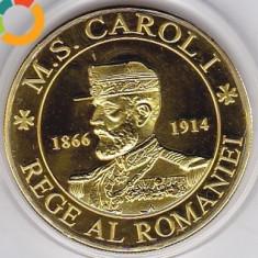 Medalie Comemorativa Medalie Regele Carol Medalie Regina Elisabeta - Medalii Romania