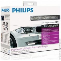 Lumini de zi Philips 12825WLEDX1 LED DaylightGuide 12V 6 W - DRL