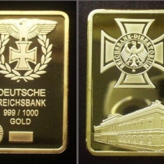 Lingou Germania Bullion Bar Reichsbank Direktorium, Europa