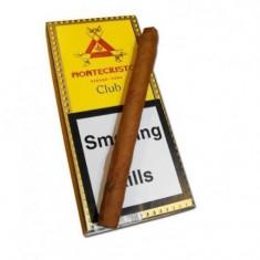 Tigari de foi Montecristo Club 10 cigarillos - Tigari foi
