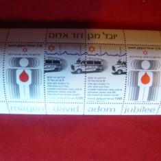 Bloc - Salvarea - Israel 1980 - Timbre straine, Nestampilat