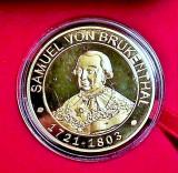 Medalie Comemorativa Medalie Samuel von Brukenthal Medalie Muzeul Brukenthal