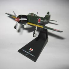 Macheta avion Mitsubishi A6M3 Zero - Japan - 1942 scara 1:72 - Macheta Aeromodel