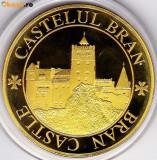 Medalie Comemorativa Medalie Castelul Bran Medalie Burzendland Tara Barsei