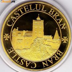 Medalie Comemorativa Medalie Castelul Bran Medalie Burzendland Tara Barsei - Medalii Romania