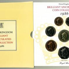 ANGLIA - Set monetarie 1986 - 1 Pound