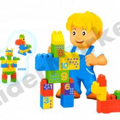 Cuburi de constructie din plastic pentru +12 luni - Jocuri Seturi constructie, 2-4 ani, Unisex