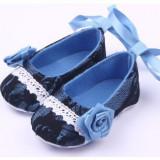 Pantofiori fetite - Trandafiras albastru