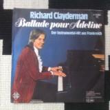 RICHARD CLAYDERMAN BALLADE POUR ADELINE disc single vinyl muzica pop ed vest
